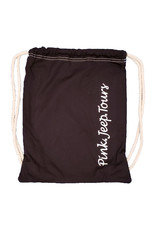 ACE USA CANVAS CINCH SACK BLACK