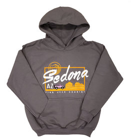 ACE USA SEDONA YOUTH HOODIE CHARCOAL