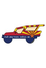 STEAMBOAT STICKERS ARIZONA FLAG JEEP