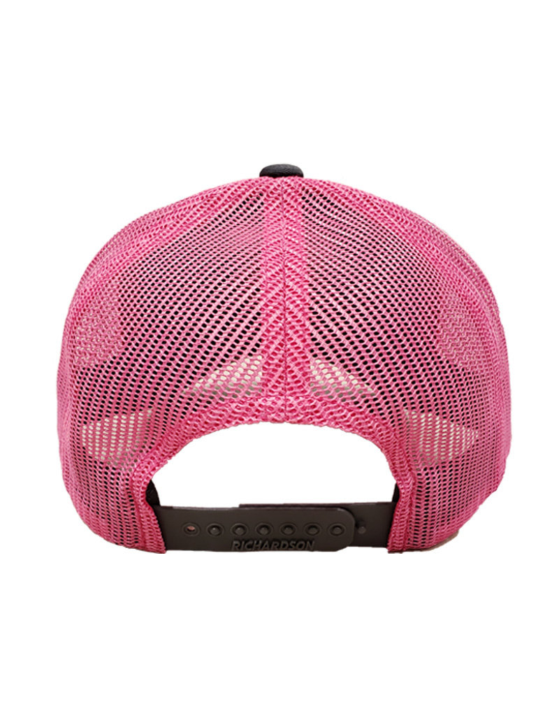 RAG TIME ENTERPRISES SEDONA MESH TRUCKER HAT GREY/PINK