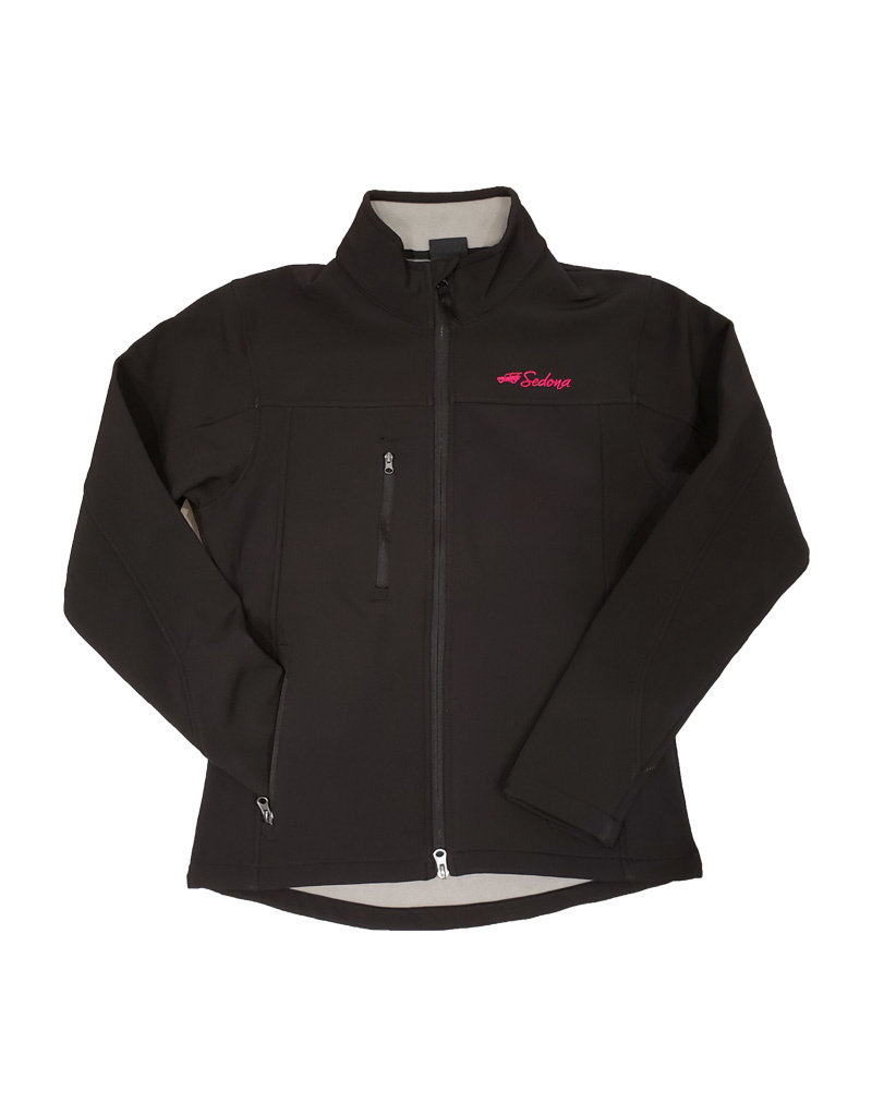 PRAIRIE MOUNTAIN LADIES SOFT SHELL JACKET BLACK