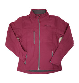 PRAIRIE MOUNTAIN LADIES SOFT SHELL JACKET MAGENTA