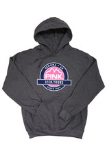 ARG/SHERRY MANUFACTURING CO. INC. SEDONA LOGO HOODIE CHARCOAL