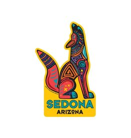 STEAMBOAT STICKERS SEDONA COYOTE