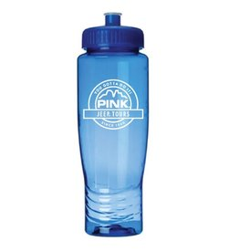 QUALITY LOGO PRODUCTS ECO WATER BOTTLE  BLUE 28oz
