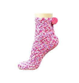 STONE ENTERPRISES - DBA PUFFIN CUPCAKE SOCKS BUBBLEGUM PINK