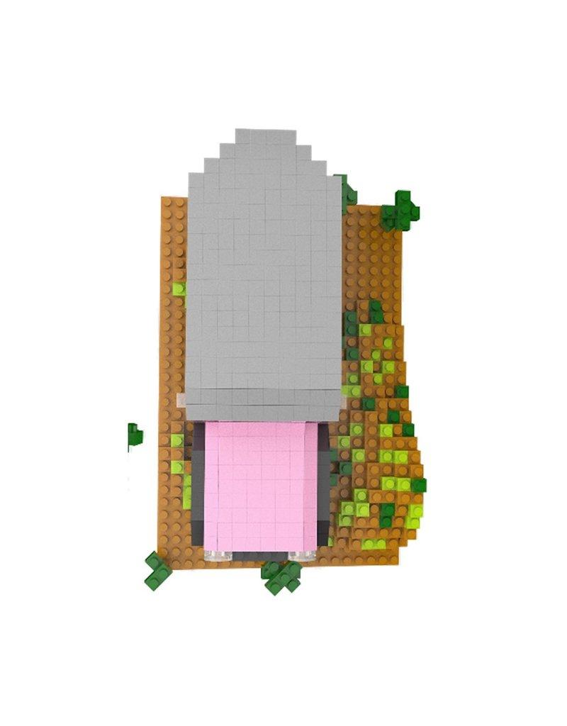 IMPACT PINK JEEP MINI BUILDING BLOCKS