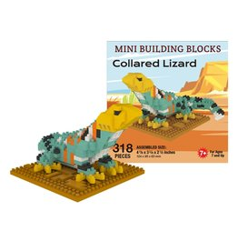 IMPACT COLLARED LIZARD MINI BUILDING BLOCKS