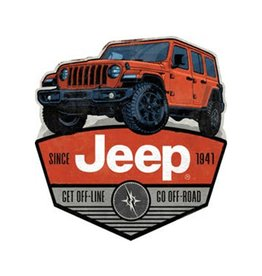 OPEN ROAD BRANDS JEEP OFF ROAD MAGNET