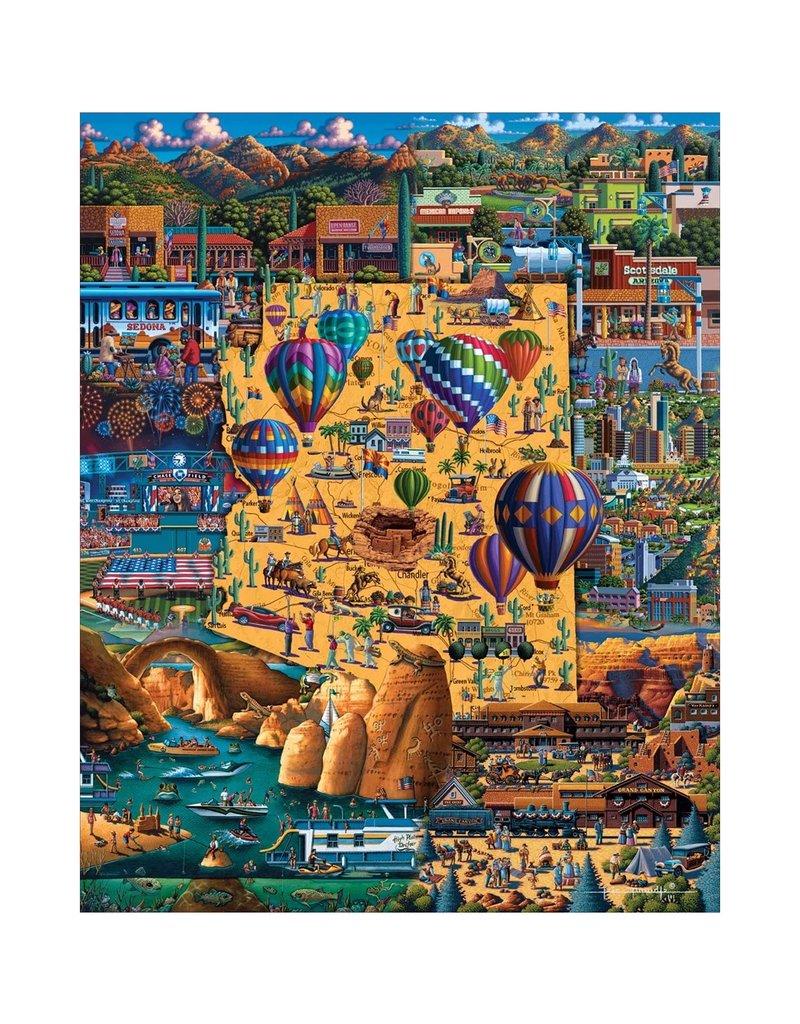 DOWDLE FOLK ART BEST OF ARIZONA PUZZLE