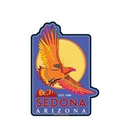 STEAMBOAT STICKERS SEDONA EAGLE
