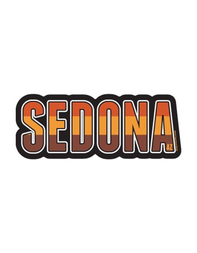 STEAMBOAT STICKERS SEDONA DESERT TALL