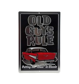 OPEN ROAD BRANDS OLD GUYS RULE TIN SIGN