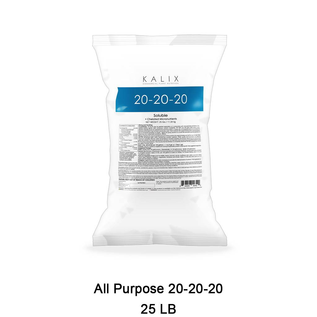 All Purpose 20-20-20 + Chelated Micronutrients 25 lb