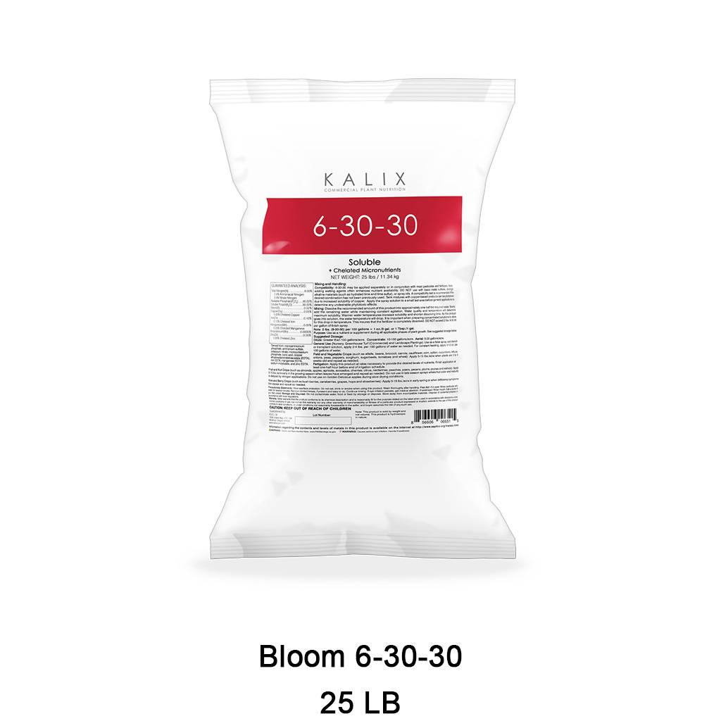 Bloom 6-30-30 + Chelated Micronutrients 25 lb