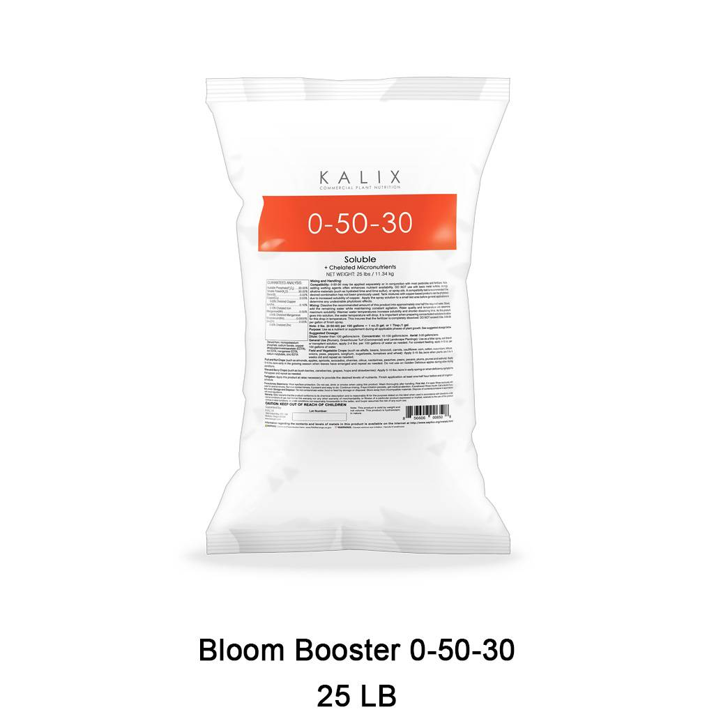 Bloom Booster 0-50-30 + Chelated Micronutrients 25 lb