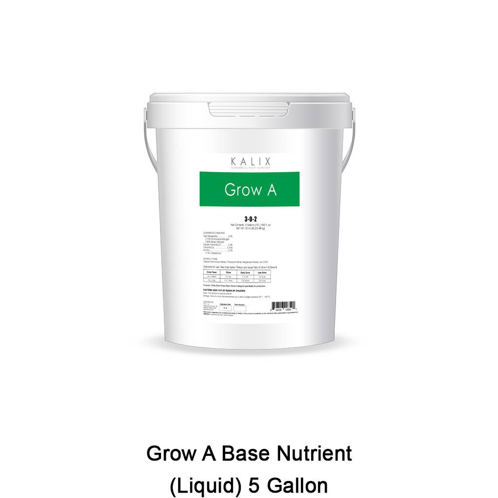 Grow A Base Nutrient (Liquid) 5 Gallon