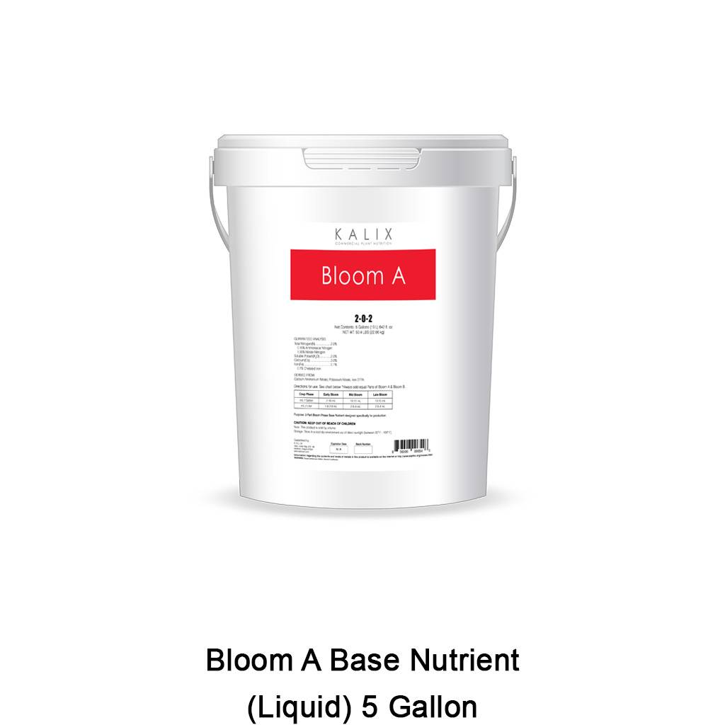 Bloom A Base Nutrient (Liquid) 5 Gallon