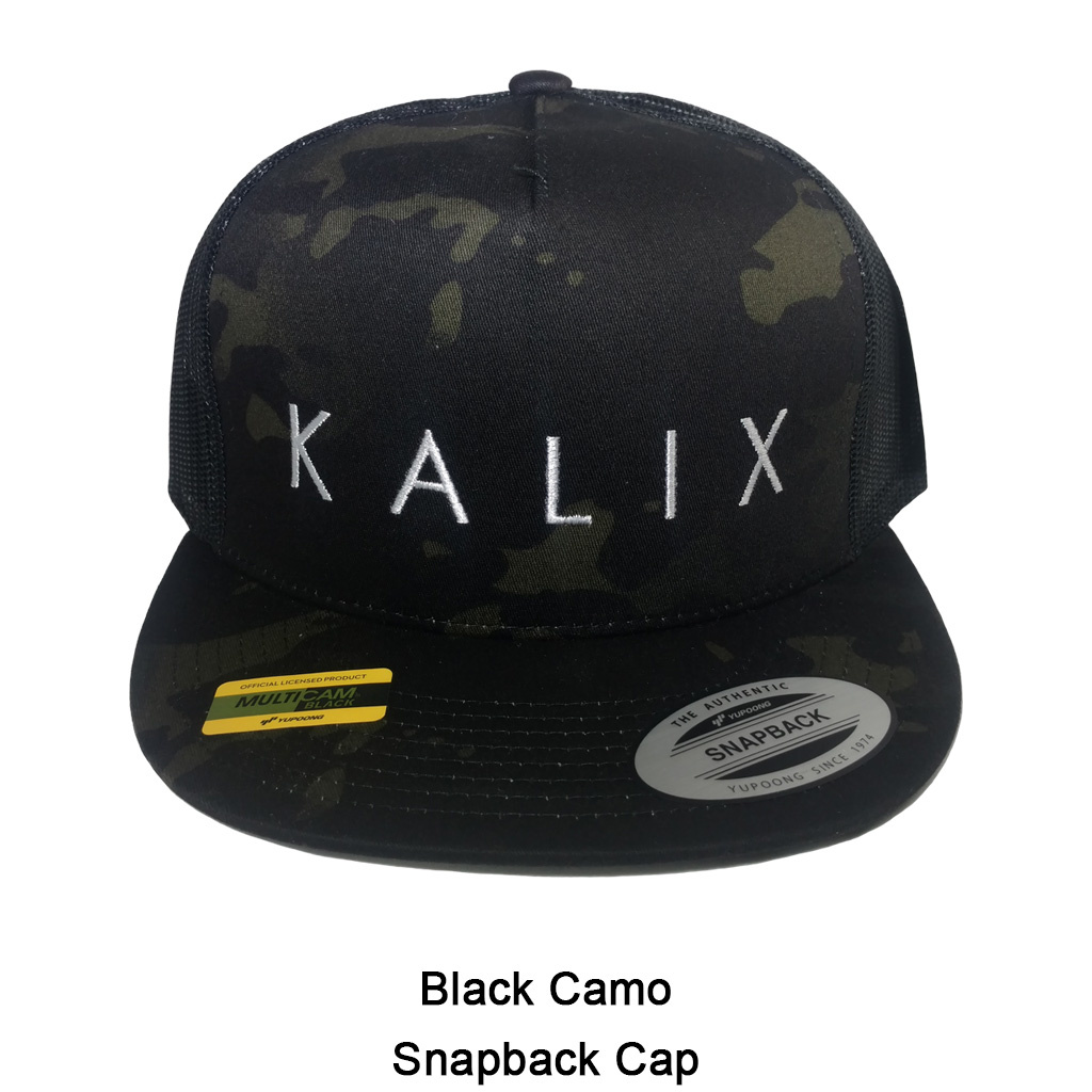 Kalix Hat Black Snapback