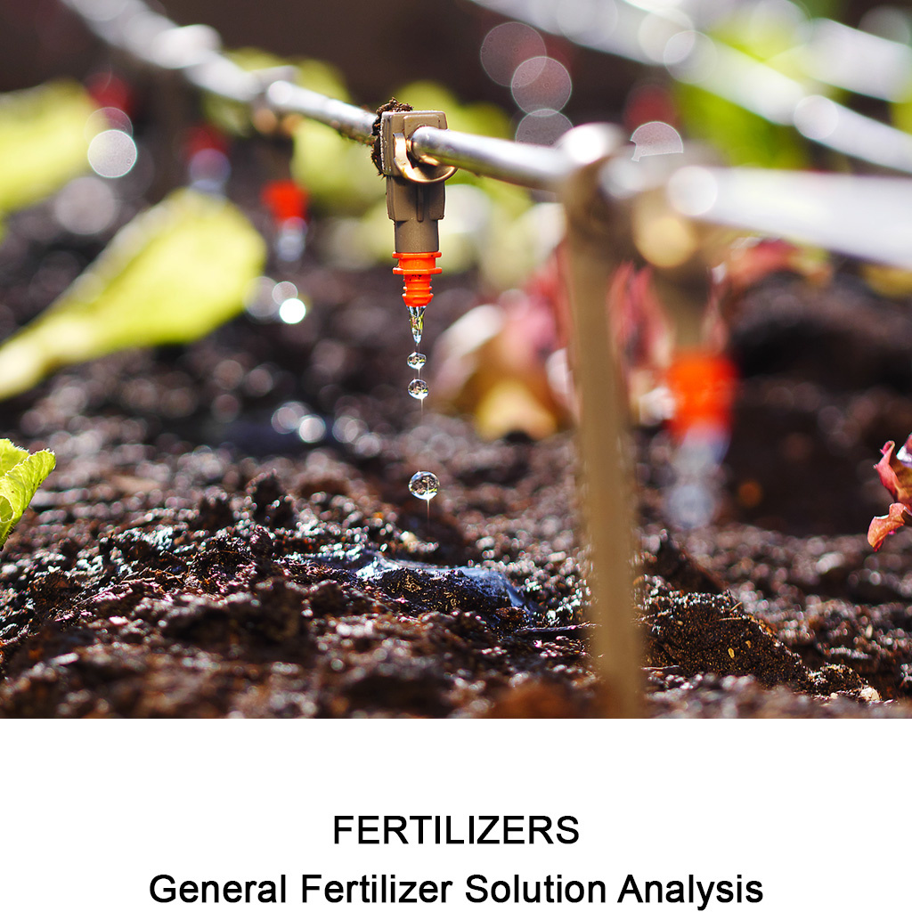 General Fertilizer Solution Analysis