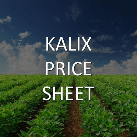 KALIX Price Sheet