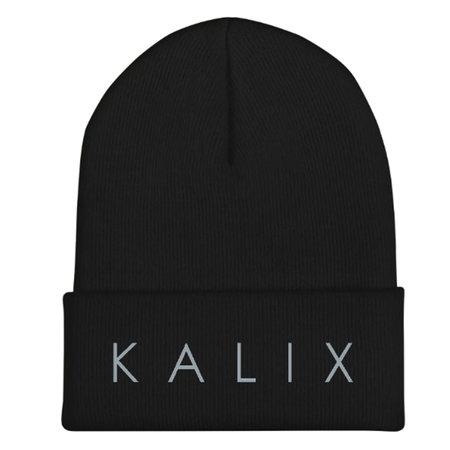 KALIX Embroidered Beanie