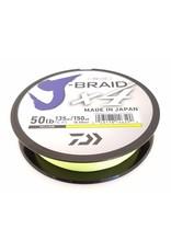 Daiwa Daiwa Jbraid X4 65 lb 150 yd Fluorescent Yellow