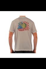 Live Bottom LB Dorado Flag SS Performance T-shirt