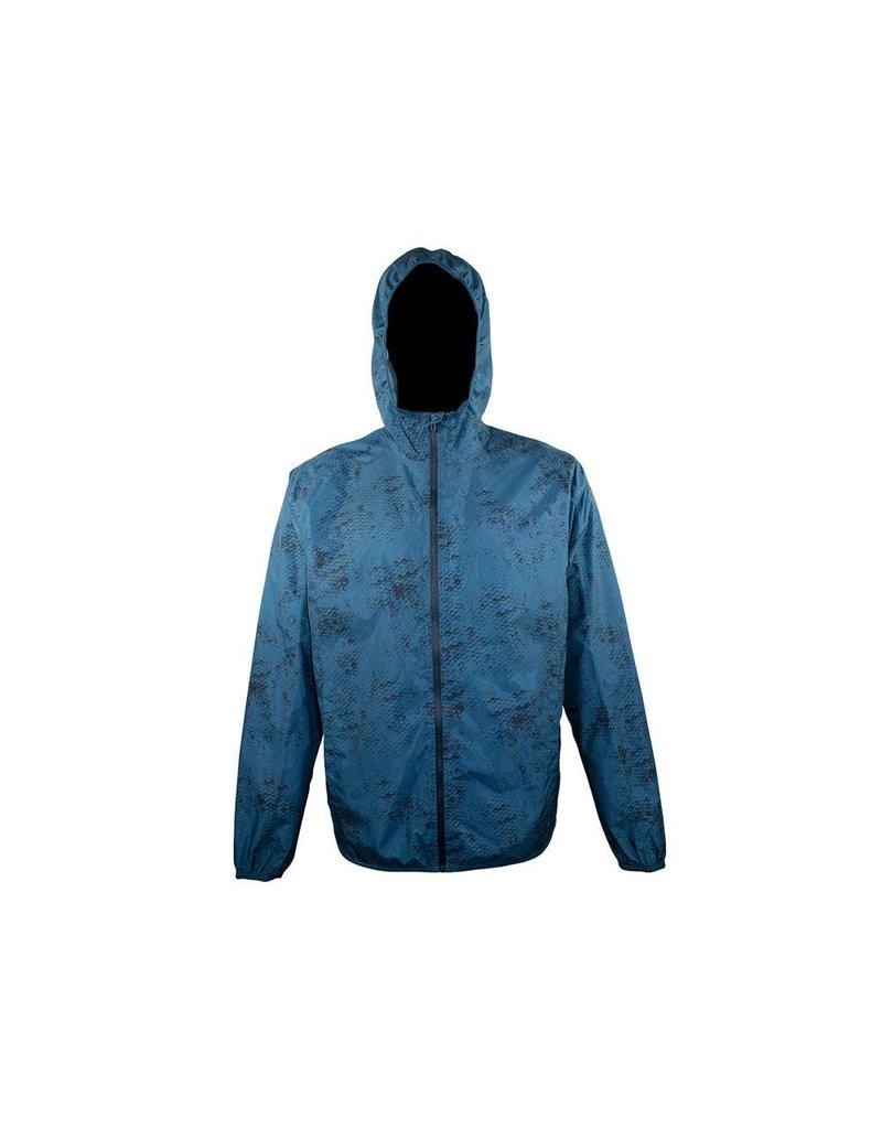 Gillz Gillz Men's Waterman Packable LW Jacket Blue Wing Teal