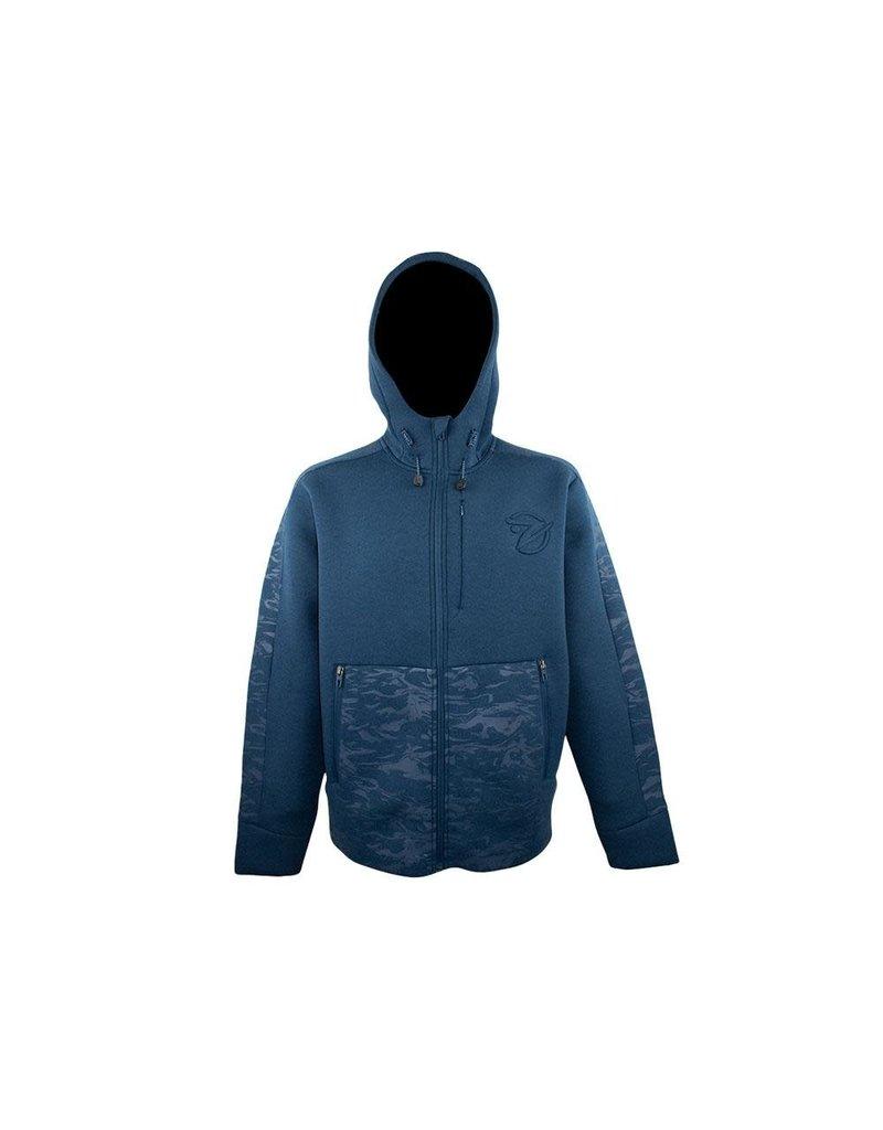 Gillz Gillz Men's Pro Series Full Zip Storm Fleece Blue Wing Teal