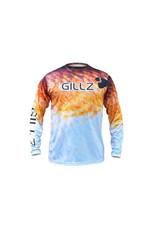 Gillz Gillz Men's Extreme RedFish LS UV RedFish