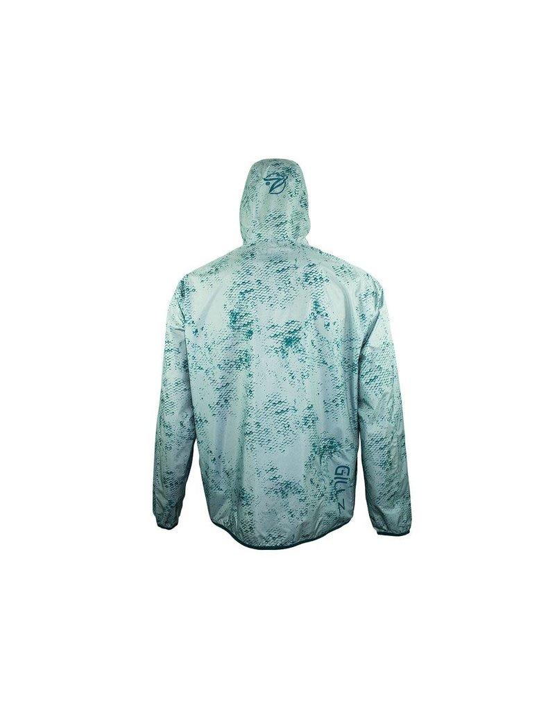 Gillz Gillz Men's Waterman Packable LW Jacket Deep Teal