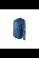 Gillz Gillz Men`s LS UV Scales Snorkel Blue