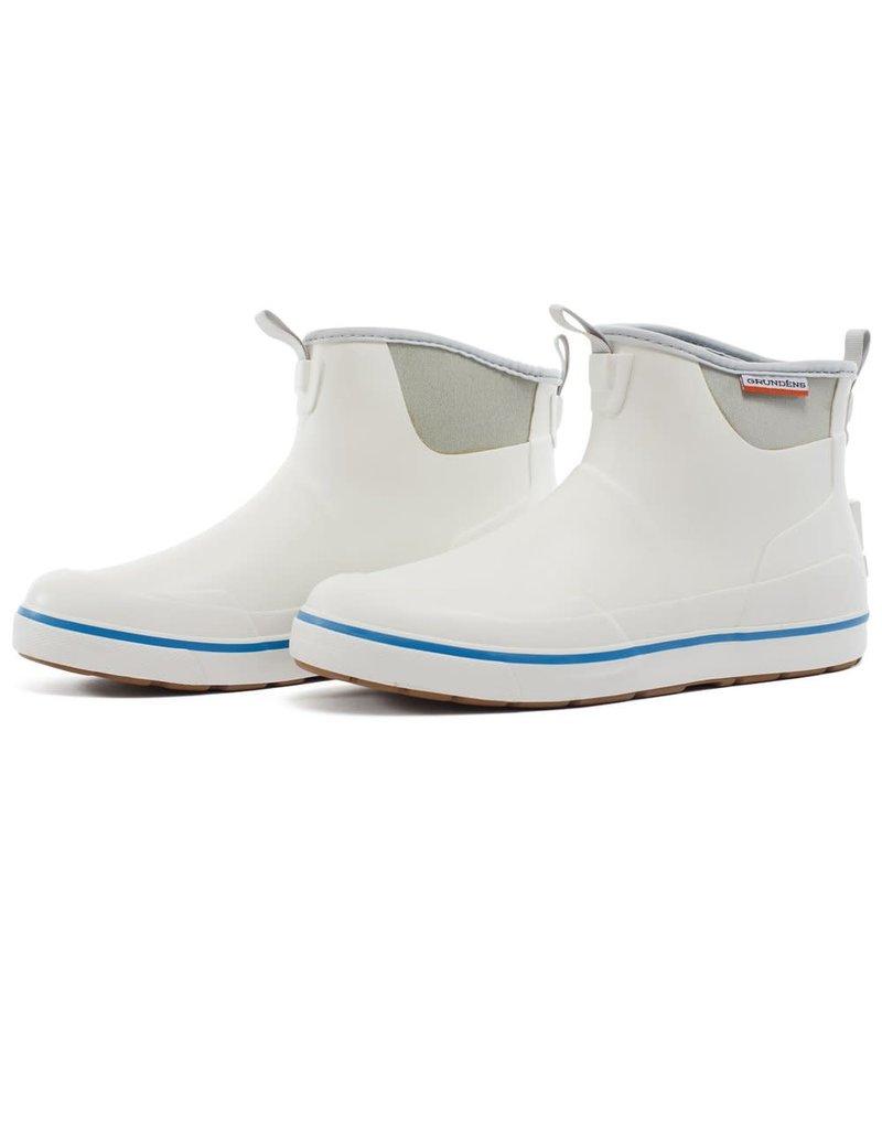 Grundens Grundens Men's Deck Boss Ankle Boot White