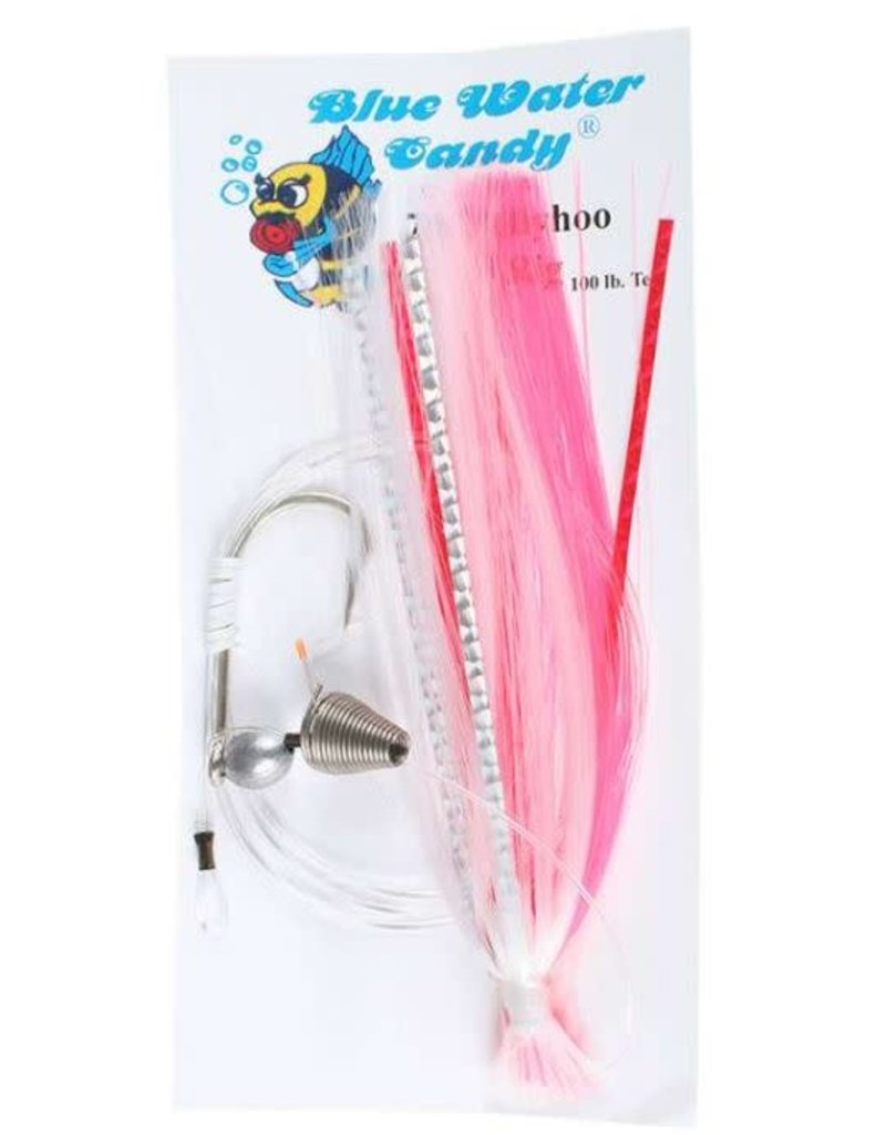 Blue Water Candy BWC 11251-3 7/0 Ballyhoo Rigged Pink