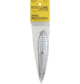 "Huntington Hardbaits Eco-Lure Spoon 08751-S   3-1/2"" Silver"