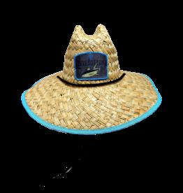 Live Bottom LiveBottom Life Guard Hat  Blue trim