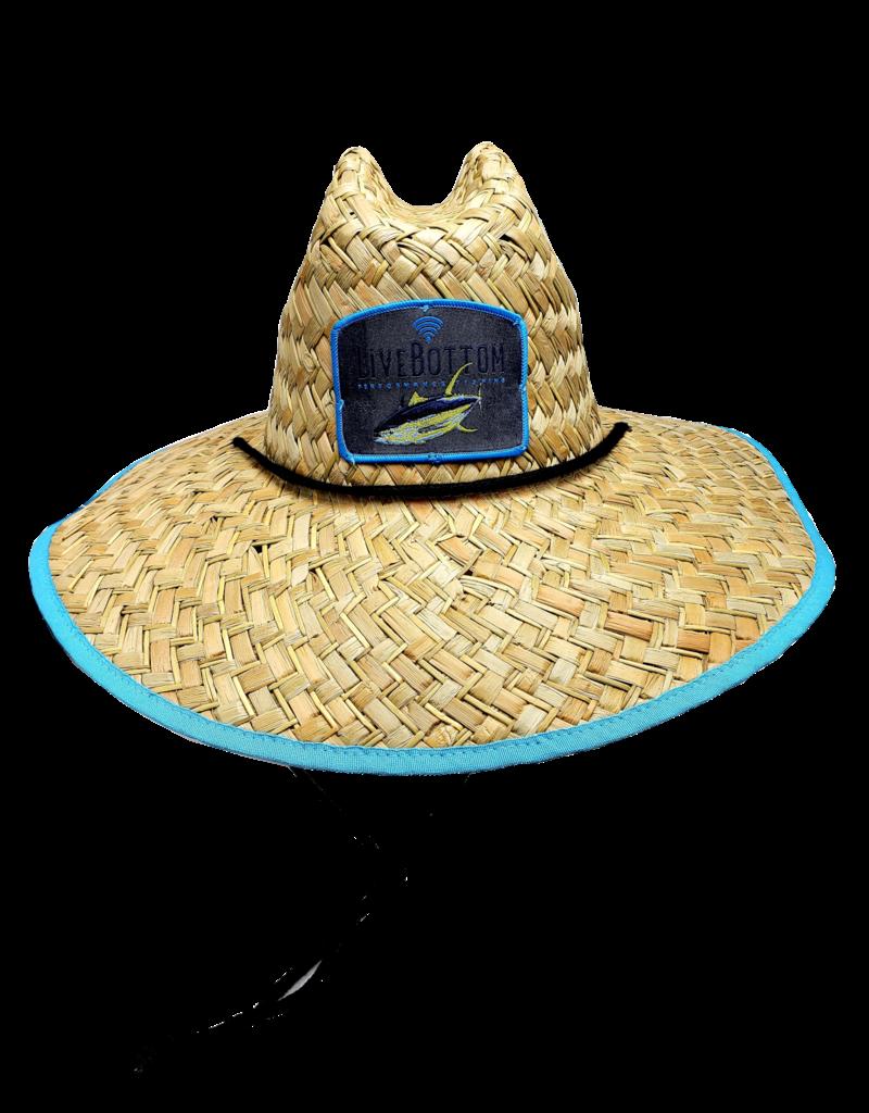 Live Bottom Live Bottom Life Guard Hat  Blue trim