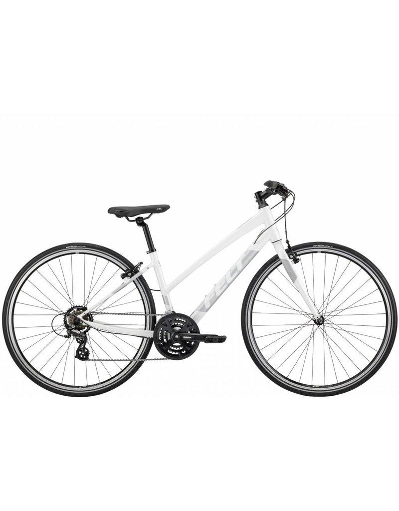 Verza Speed 50 Women Gloss Pearl White (Reflective Silver) 54