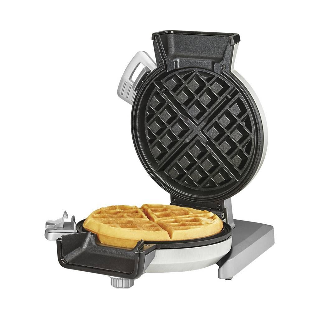 WAF-V100 Vertical Waffle Maker - Silver (Manufacturer Refurbished / 6 Month Warranty)