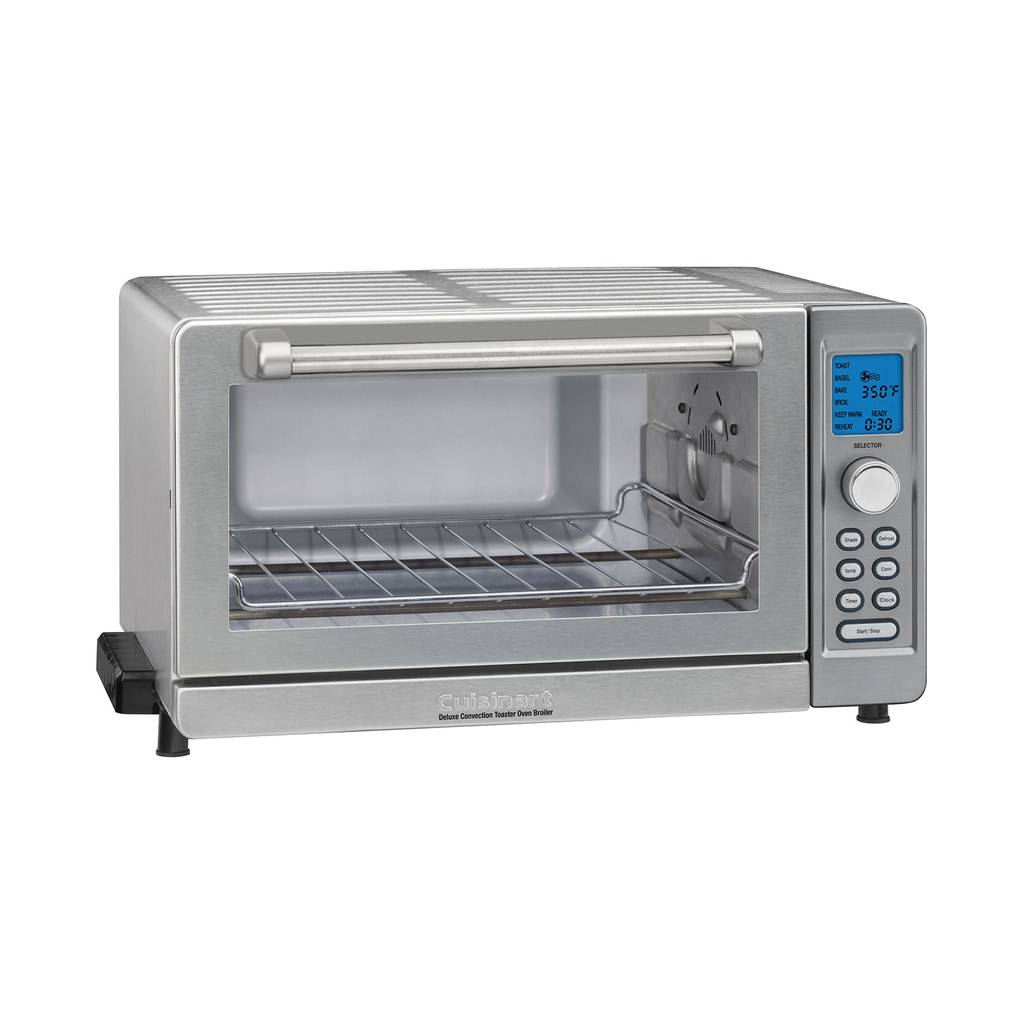 TOB-135 Deluxe Convection Toaster Oven Broiler - Brushed Stainless Steel (Manufacturer Refurbished / 6 Month Warranty)