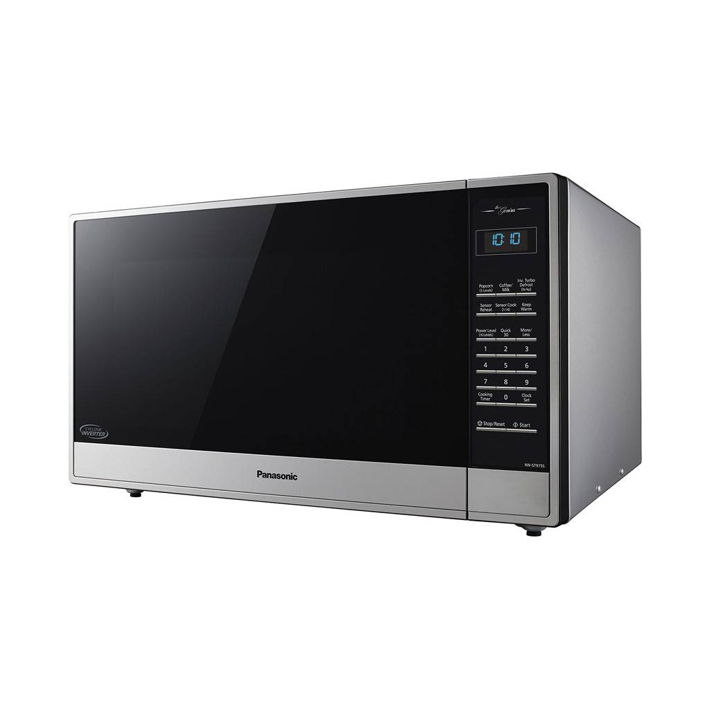 Panasonic 1.6 cu. ft. Evolved Microwave with Cyclonic Inverter Technology NN-ST785S