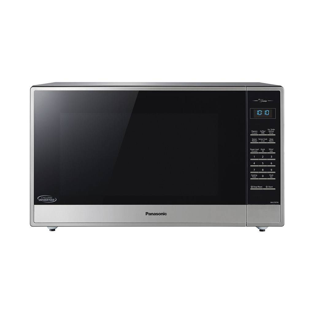 Panasonic 1.6 cu.ft. Stainless Steel Microwave with Cyclonic Wave Inverter Technology NN-ST775S