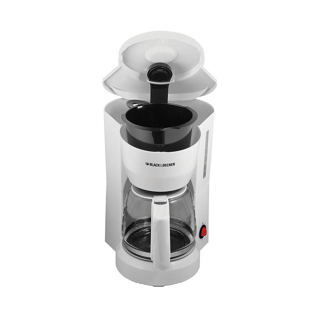Black & Decker 5 Cup Compact Switch Coffeemaker DCM600WC - White