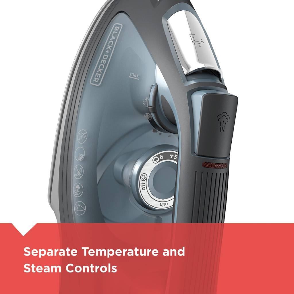 Black & Decker Impact Advanced Steam Iron IR3000C