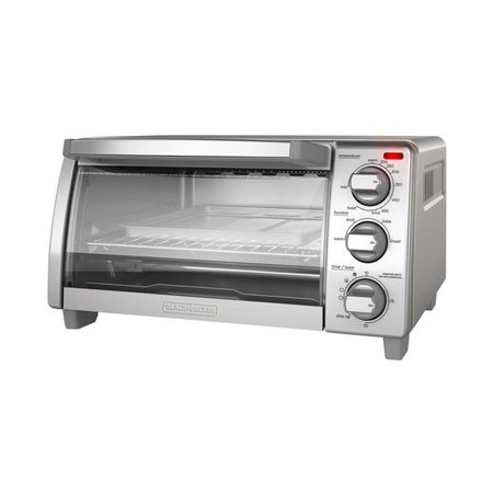 Black & Decker 4 Slice Toaster Oven TO1745SGKT