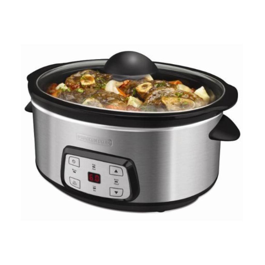 Black & Decker 7qt. Digital Slow Cooker SL6470SKT