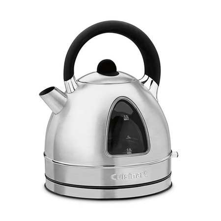 DK-17 1.7L Cordless Electric Kettle -  Stainless Steel (90 Days Warranty)