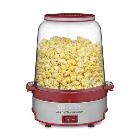 CPM-700C EasyPop Popcorn Maker - Red/Silver (90 Days Warranty)