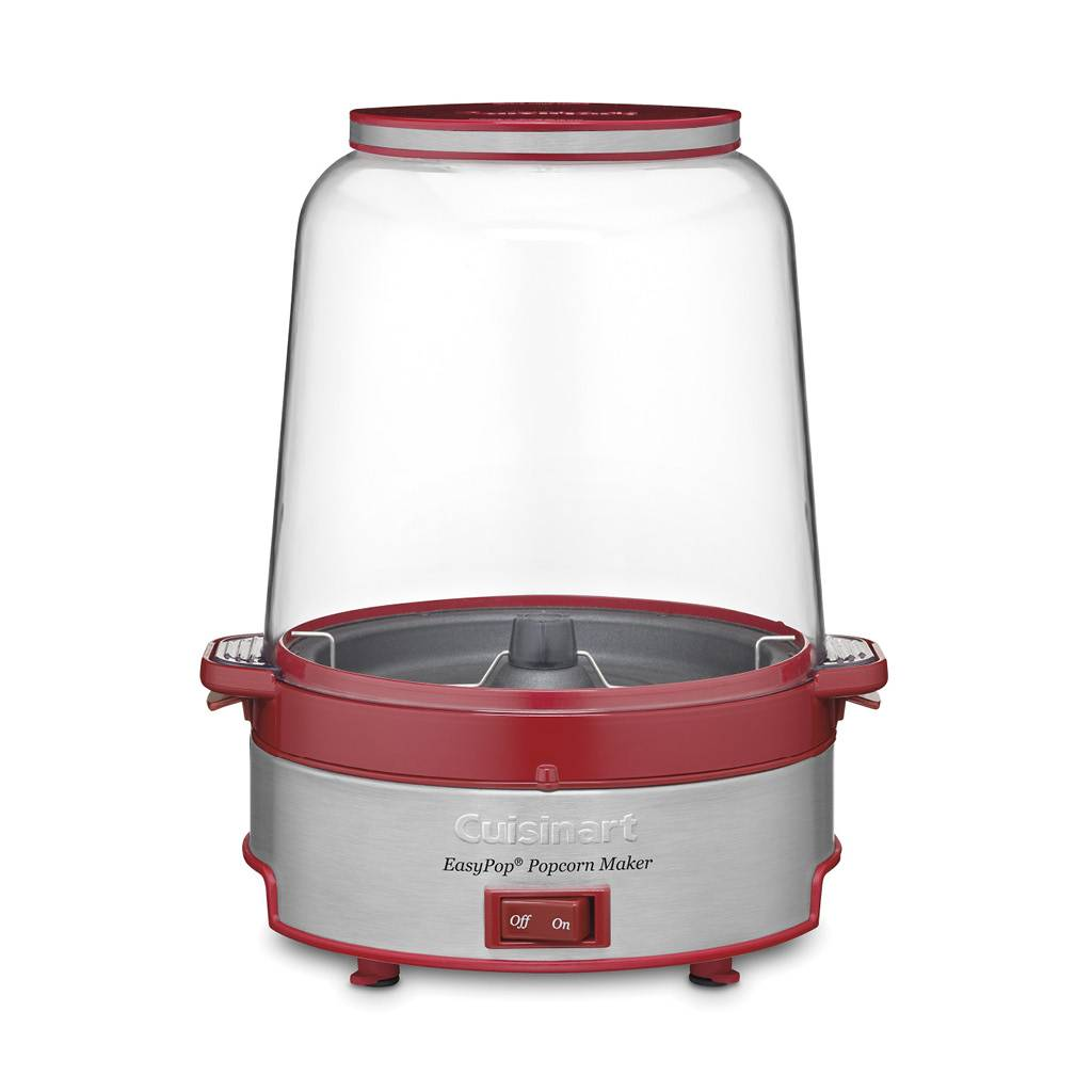 CPM-700C EasyPop Popcorn Maker - Red/Silver (Manufacturer Refurbished / 6 Month Warranty)